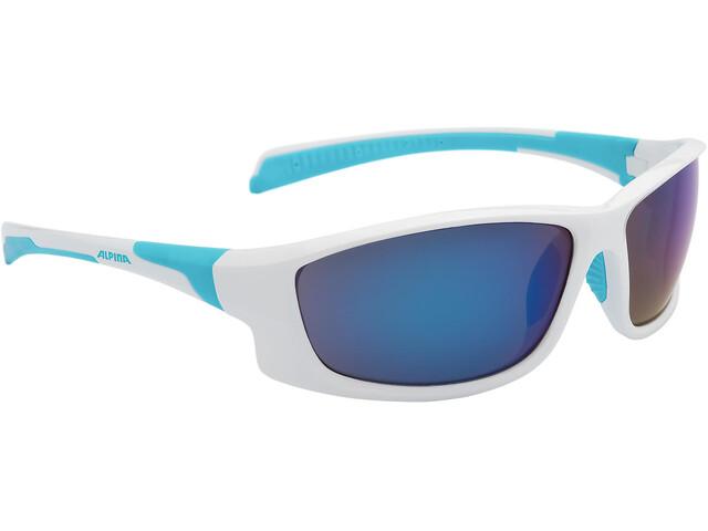 Alpina Fenno - Lunettes cyclisme - bleu/blanc